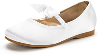 DREAM PAIRS Girl's Sophia Adorables Mary Jane Front Bow...
