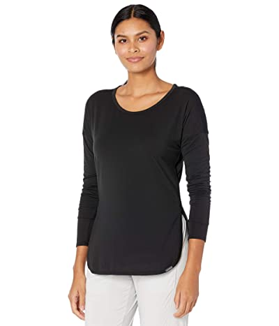 ExOfficio BugsAway(r) Wanderluxtm Cianorte Long Sleeve Shirt (Black) Women