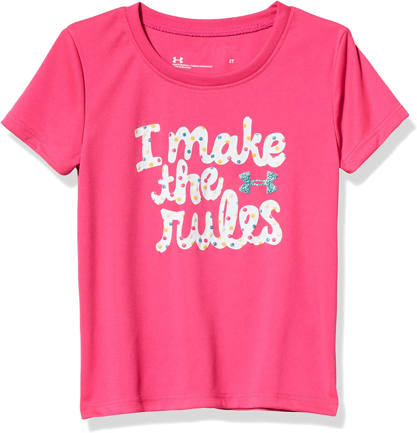 Under Armour Girls' Ua I Make The Rules Ss