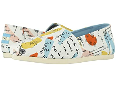 TOMS Venice Collection Alpargata 3.0 (Blake Doodle Print Canvas) Women