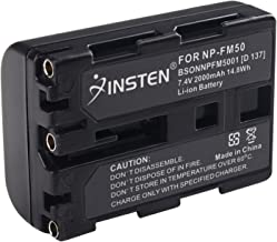 Bater/ía Equivalente a Sony NP-FM50//51//NP-QM50//51//NP-FM30//50//51//QM50//51 Jupio CSO0011 Lithium Ion, 1400 mAh