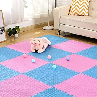 AINIYF Foam Exercise Mat Puzzle Pieces Great for Kids to Learn and Play Interlocking Puzzle Pieces Protective Flooring 60c...