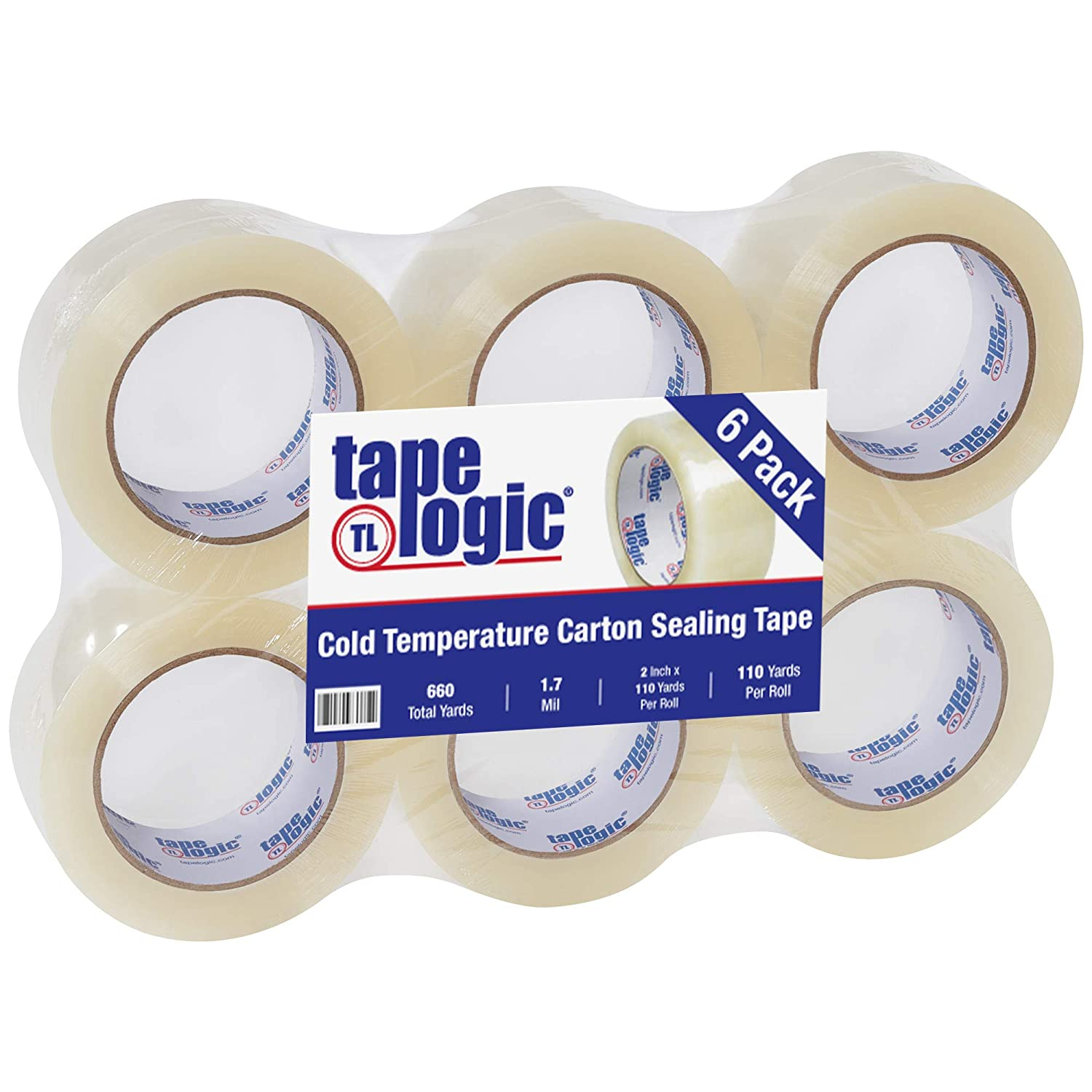 Aviditi Tape Logic 2 Inch New color x 110 Duty 1.7 Mil Heavy Clear outlet C Yard