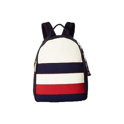 Tommy Hilfiger Vivian Backpack (Navy/Multi) Backpack Bags