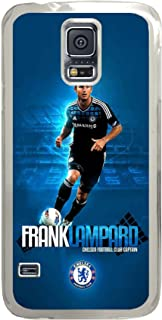 S5 Case, Galaxy S5 Case, Customize Chelsea Fc Frank Lampard Samsung Galaxy S5 Hard PC Plastic Clear Case Protection Shockproof Case Cover for New Galaxy S5