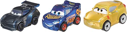 high quality Disney online sale sale Pixar Cars Mini Racers Metal Vehicles, 3 Pack outlet sale