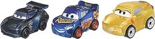 Disney/Pixar Cars Mini Racers Metallic Series Metal Vehicles, 3 Pack (FPC48)