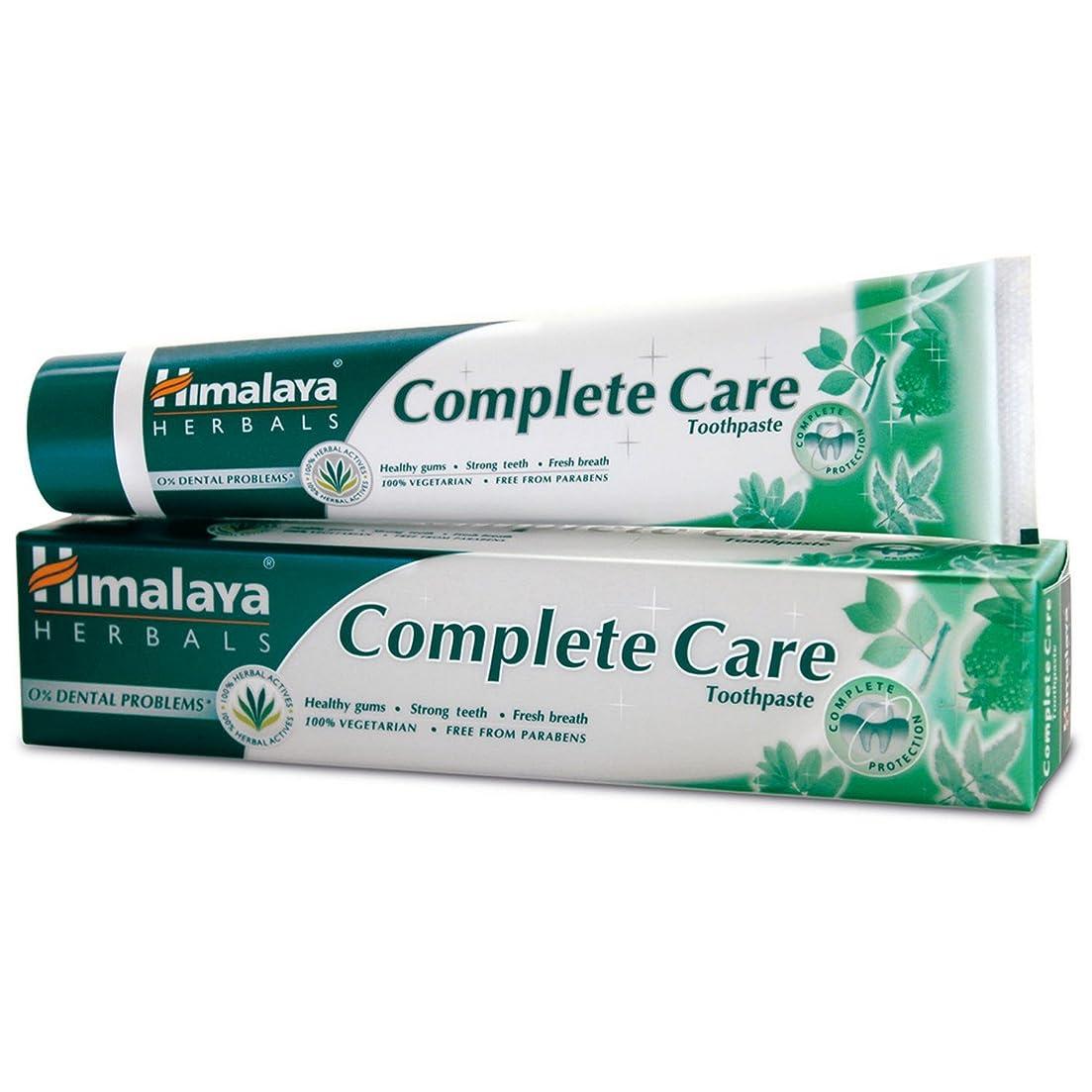 除去干渉する目を覚ますHimalaya Herbals Complete Care toothpaste 80 g