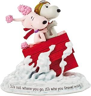 Hallmark Paj1166 Snoopy Flying Ace and Fifi Figurine