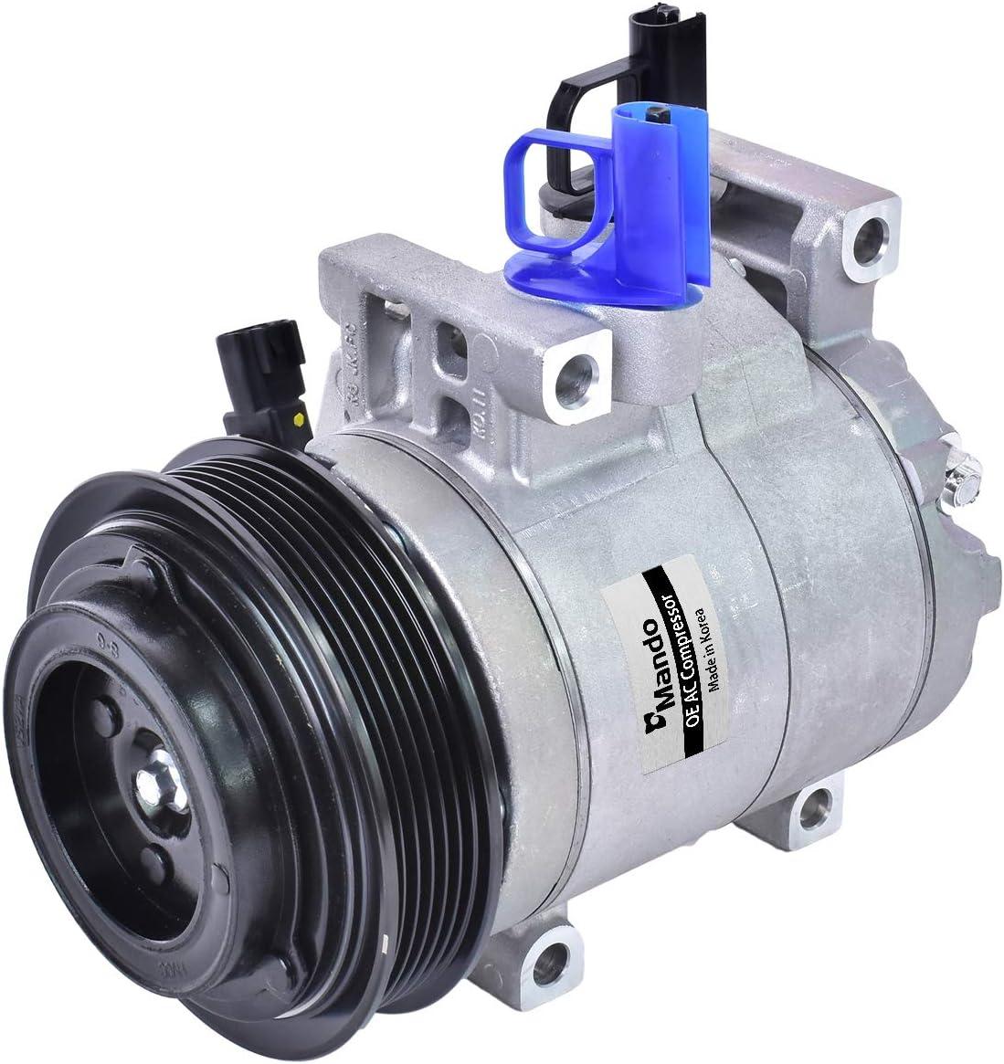 New Mando 10A1442 AC Complete Free Shipping Compressor Equipment unisex Clutch with Original