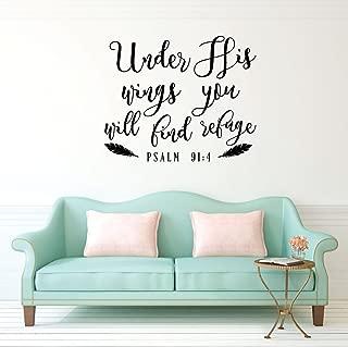 bible verse vinyl wall art