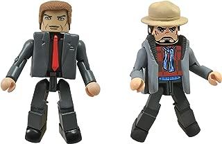 Diamond Select Toys Series 49 Marvel Minimates Iron Man 3: Aldrich Killian and Tony Stark Action Figure