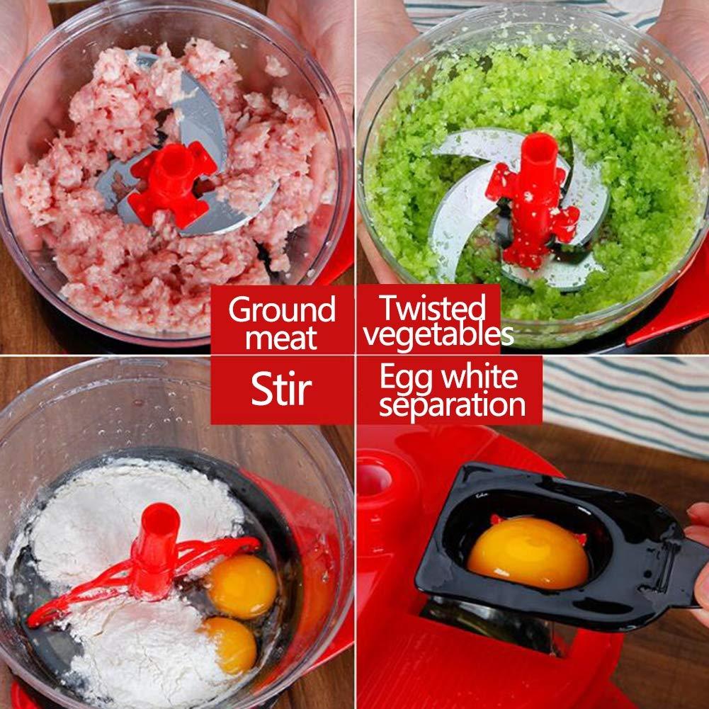 Manual Cortador de Comida, Picador De Verduras Procesador de ...