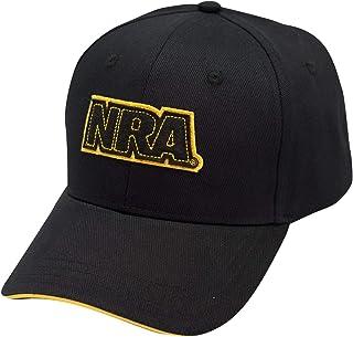 NRA National Rifle Association Men's Logo Baseball Cap, Applique Logo Trucker Hat