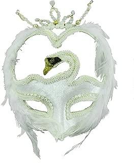 Swan Masquerade Venetian Mask Accessory