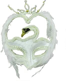 Forum Swan Masquerade Venetian Mask Accessory