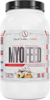 Purus Labs Myofeed Premium 3-Tier Blended Protein   Cold Processed Ultra Filtered Whey Isolate, Whey Concentrate & Micella...