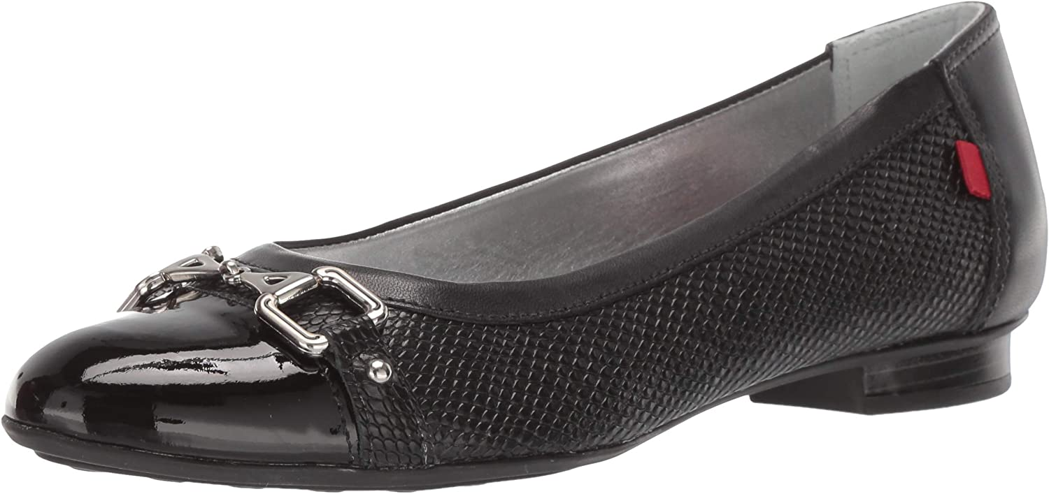 MARC JOSEPH NEW YORK Womens Womens Genuine Leather Made in Brazil Park Ave Flat Loafer Flat