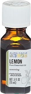Aura Cacia Essential Oil Lemon, 0.5 oz.