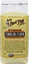 Bob's Red Mill Durum Wheat Semolina Pasta Flour, 24 Ounce (Pack of 4)