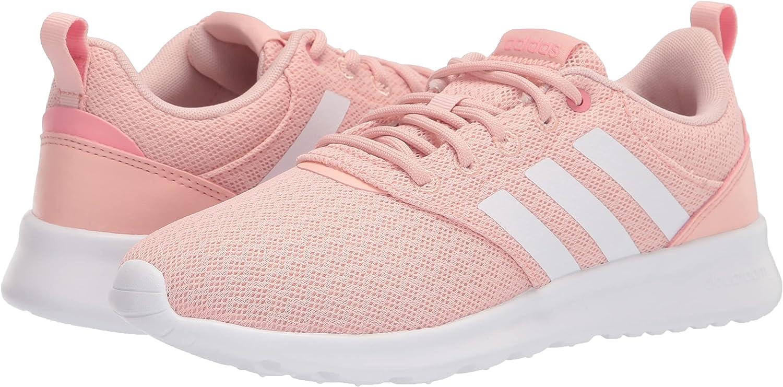 Buy adidas Women's QT Racer 2.0 Running Shoe, Vapour Pink/White/Super Pop,  8 Online in Vietnam. B08N679KT1