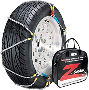 Security Chain Company Z-583 Z-Chain Extreme Performance Cable Tire Traction Chain - Set of 2: image