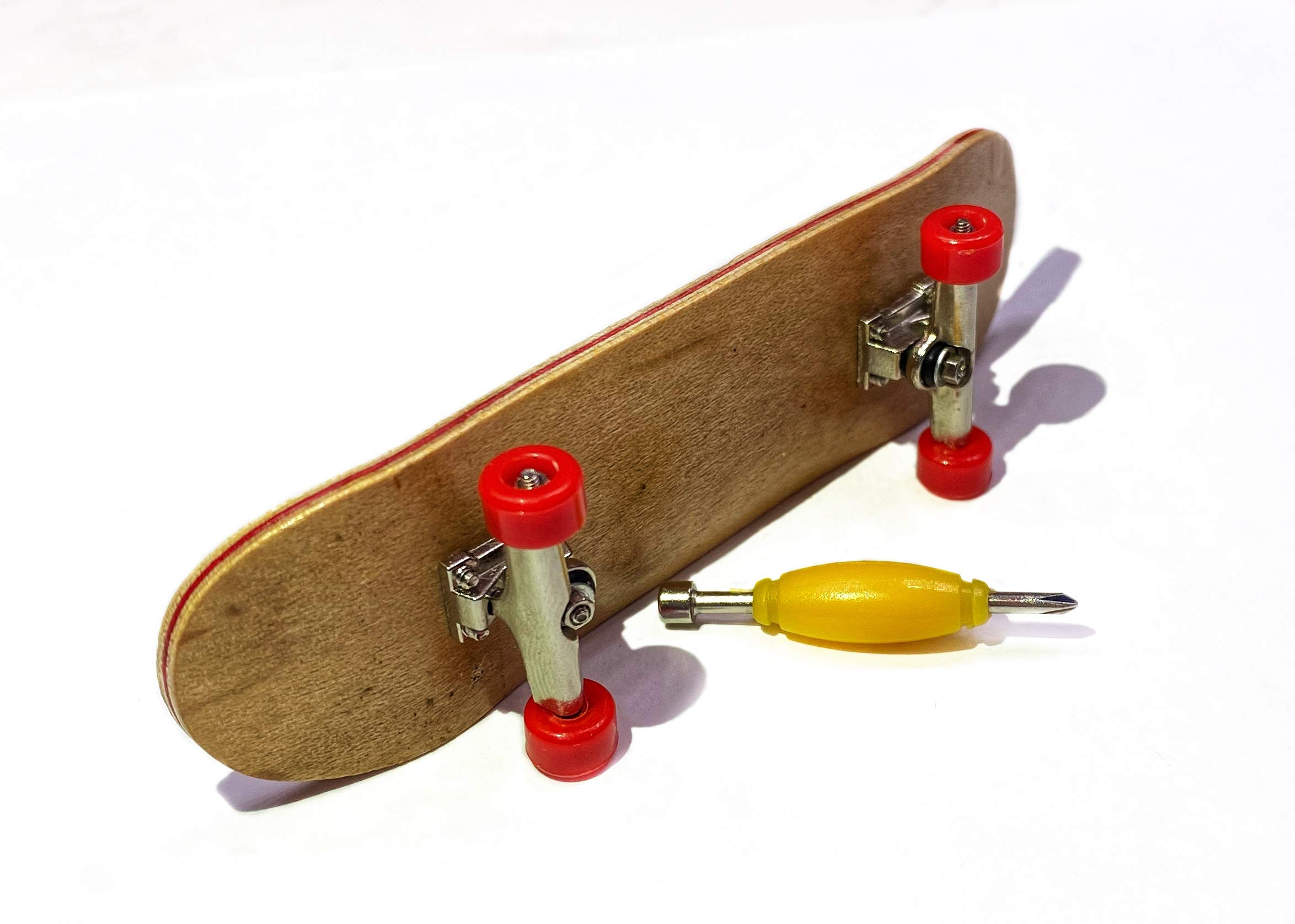 Cherry Extra Wide Peoples Republic 32MM Wooden Fingerboard Deck