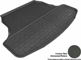 3D MAXpider Cargo Custom Fit All-Weather Floor Mat for Select Nissan Sentra Models - Kagu Rubber (Black)