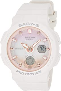Casio Womens Quartz Watch, Analog-Digital Display and Resin Strap - BGA-250-7A2DR