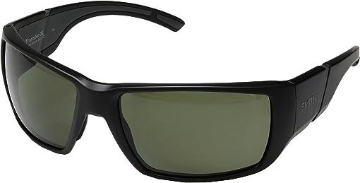 Matte Black/Gray Green ChromaPop™ Polarized Lens