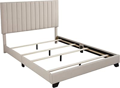 Republic Design House Bed-in-a-box Platform, King, Flax