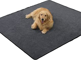 """ANWA Washable Pee Pads for Dogs, Reusable Puppy Pads Extra Large 72""""x72"""", Non-Slip Whelping Pads Washable and Waterproof, ..."""