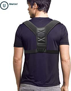 Posture Corrector for Men and Women, Adjustable Upper Back Brace for Clavicle Support, Designed to Relief Back, Neck Pain, Superior for Spinal Alignment, Under Clothes