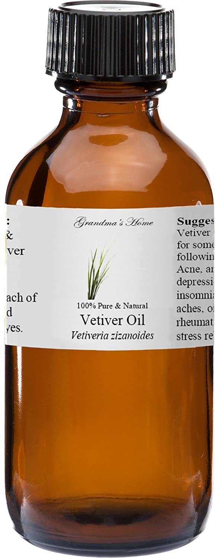 Vetiver Essential Oil 4 oz Philadelphia Mall 100% Gra and Seattle Mall Pure Natural Therapeutic