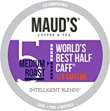 100 Count Maud's Half Caff Coffee Recyclable Single Serve Coffee Pods