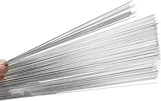 BLACKHORSE-RACING Aluminum Welding Rod, 50 Pack Universal Rods Melt Low Temperature Pure Tin Welding Wire Flux Cored Soldering Rod No Need Solder Powder