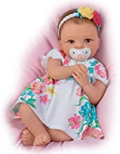 The Ashton - Drake Galleries Cheryl Hill Pretty and Petite Presley TrueTouch Silicone Lifelike Baby Doll