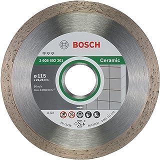 Bosch Standard for Ceramic Diamond Cutting Disc, 115 mm, 2608602201, Silver/Grey