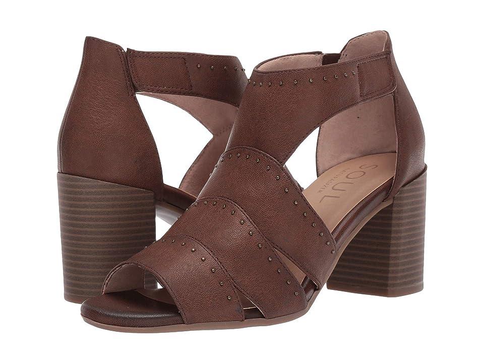 SOUL Naturalizer Christina (Mid Brown Smooth) High Heels