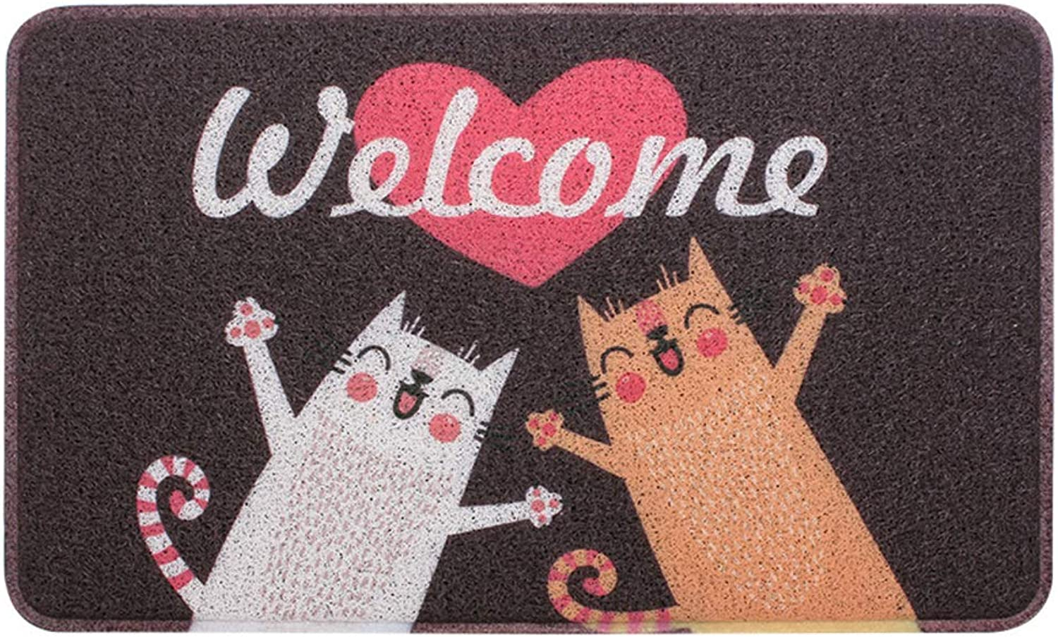 Door mat,Doormats Entrance Rug Bathroom Non Slip Door mat Front Entrance Door mat Front Door mat-Welcome 45x75cm(18x30inch)
