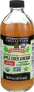 International Collection Organic Apple Cider Vinegar, 16 Fluid Ounce