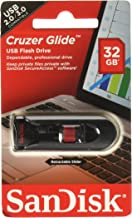SanDisk Cruzer Glide 32GB USB 2.0 Flash Drive- SDCZ60-032G-B35