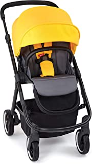 Diono Excurze Mid Size Stroller, Yellow Sulphur