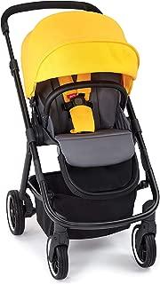 Diono Excurze Mid Size Stroller, Yellow Sulphur