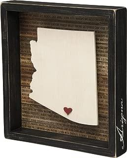 Primitives by Kathy Arizona Wanderlust Box Sign, 9.75