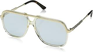 Gucci GG0200S GG 0200S 方形飞行员太阳镜镜片类别 3