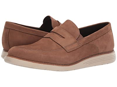Rockport Total Motion Sports Dress Penny Loafer (Bear Brown/Cream) Men