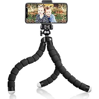 UBeesize Tripod S, Premium Flexible Phone Tripod with Wireless Remote, Mini Tripod Stand for Camera GoPro/Mobile (Upgraded)