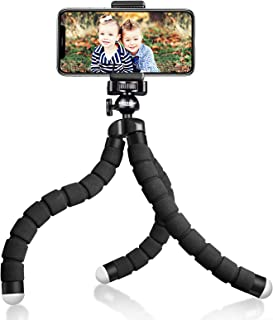 UBeesize Tripod S, Premium Phone Tripod, Flexible Tripod with Wireless Remote Shutter, Compatible with iPhone/Android Sams...