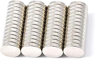 Magenesis Imanes de neodimio, 10 x 2 mm, 52 Unidades, Muy Fuertes, Aprox. 2 kg de Fuerza Adhesiva - esis estomacal, 10x2 mm